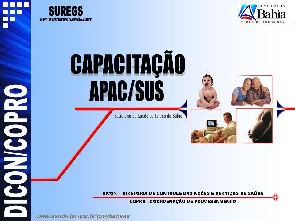 CAPACITAÇÃO APAC/SUS