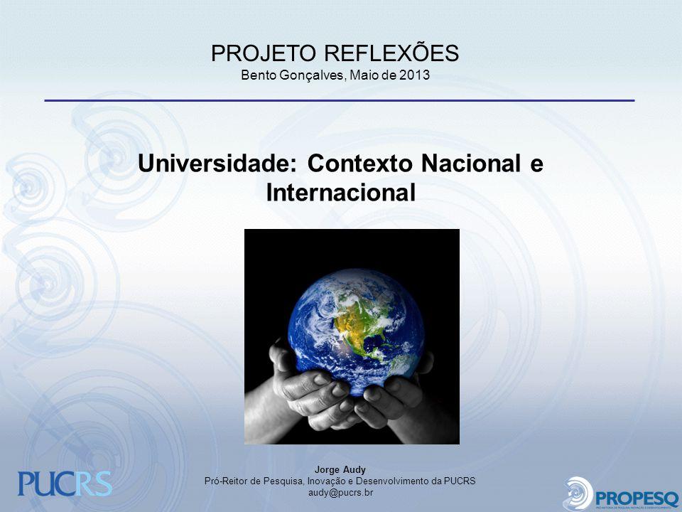 Universidade: Contexto Nacional e Internacional