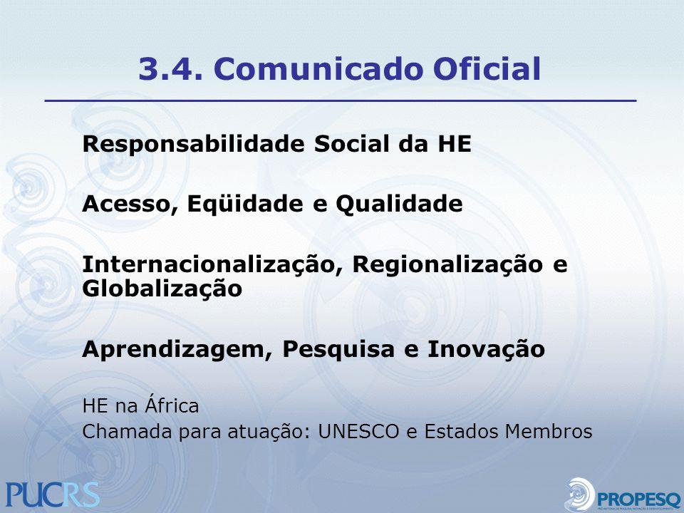 3.4. Comunicado Oficial Responsabilidade Social da HE