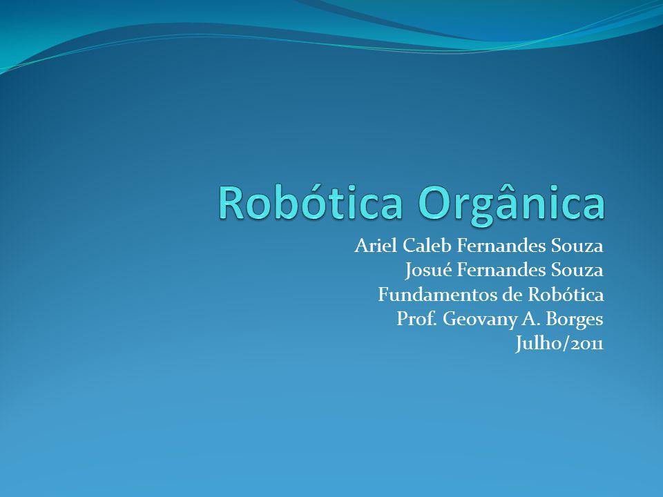 Robótica Orgânica Ariel Caleb Fernandes Souza Josué Fernandes Souza