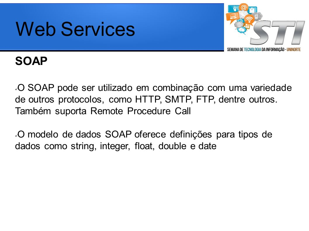 Web Services SOAP.