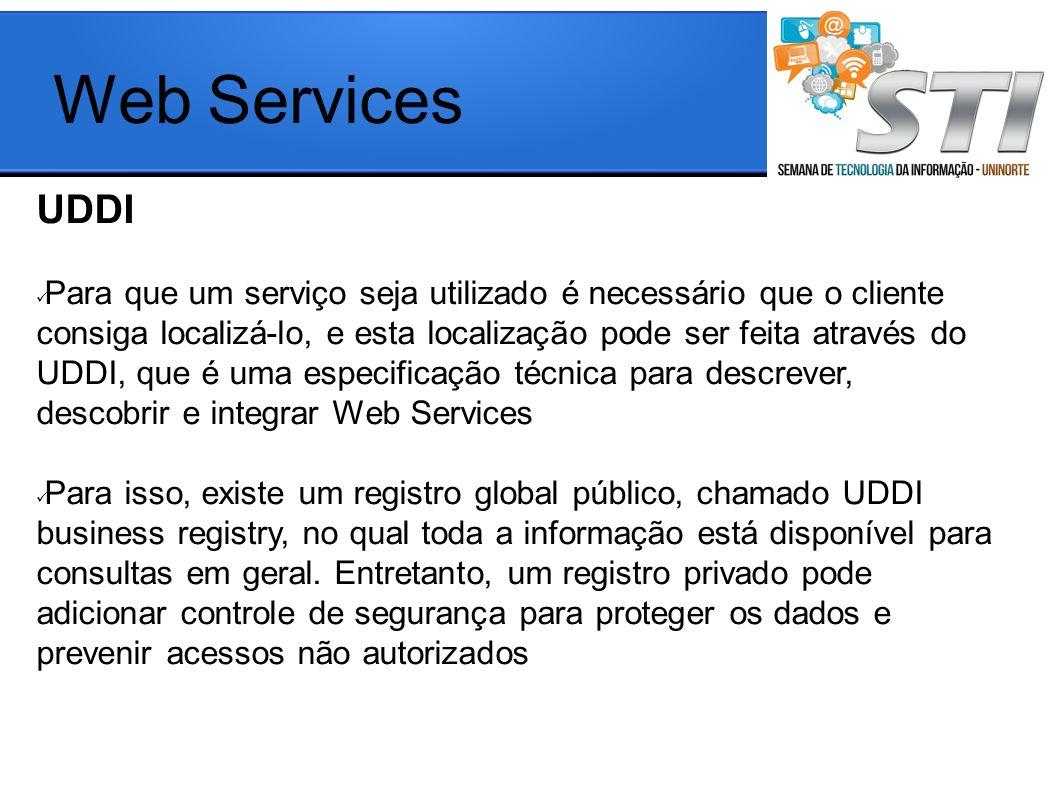 Web Services UDDI.