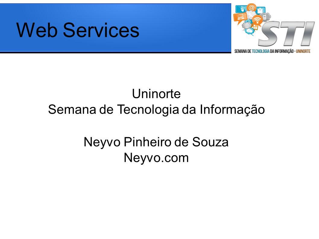 Web Services Uninorte Semana de Tecnologia da Informação