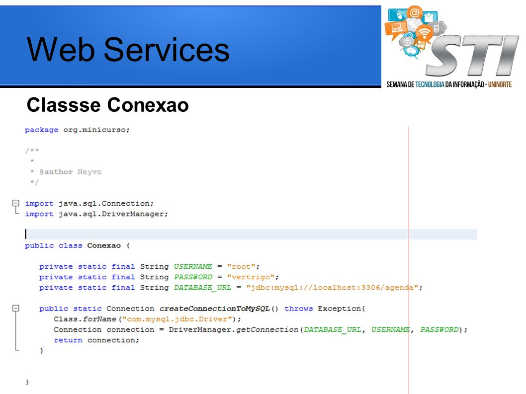 Web Services Classse Conexao