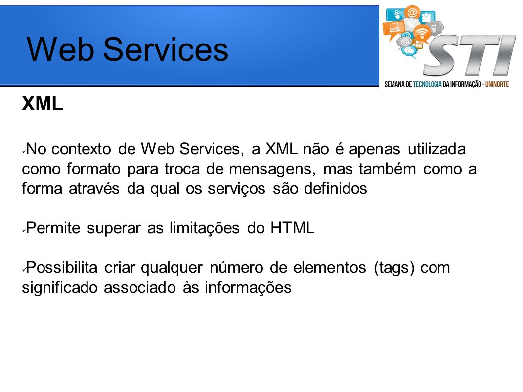 Web Services XML.