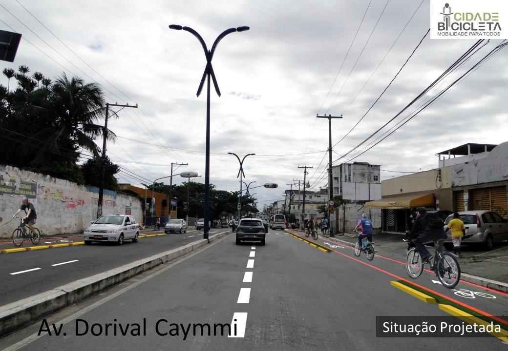 Av. Dorival Caymmi Situação Projetada