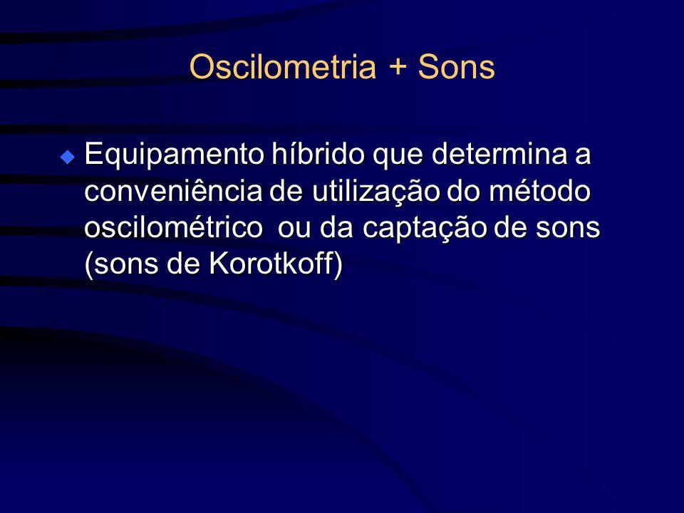 Oscilometria + Sons