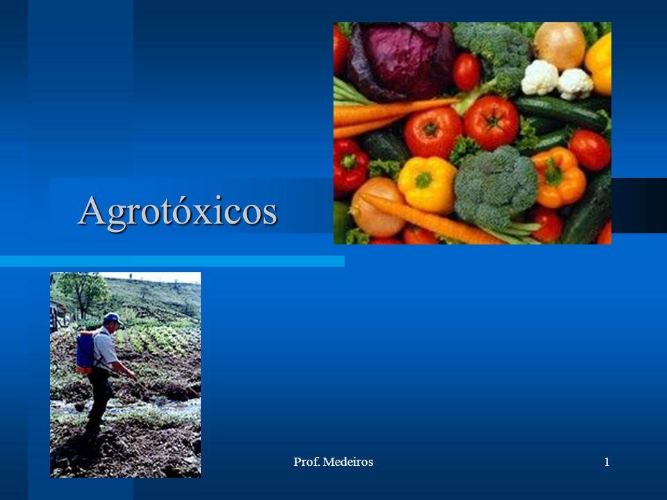 Agrotóxicos 02/04/2017 Prof. Medeiros