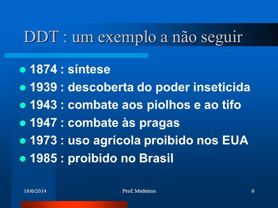 DDT : um exemplo a não seguir