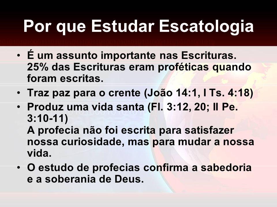 Por que Estudar Escatologia