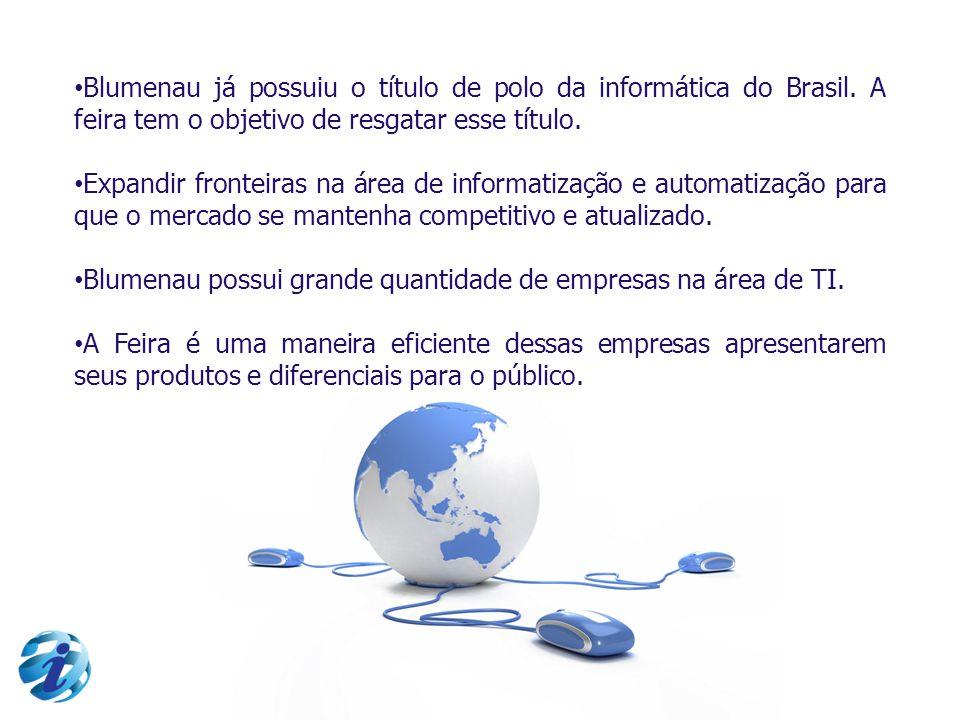 Blumenau já possuiu o título de polo da informática do Brasil