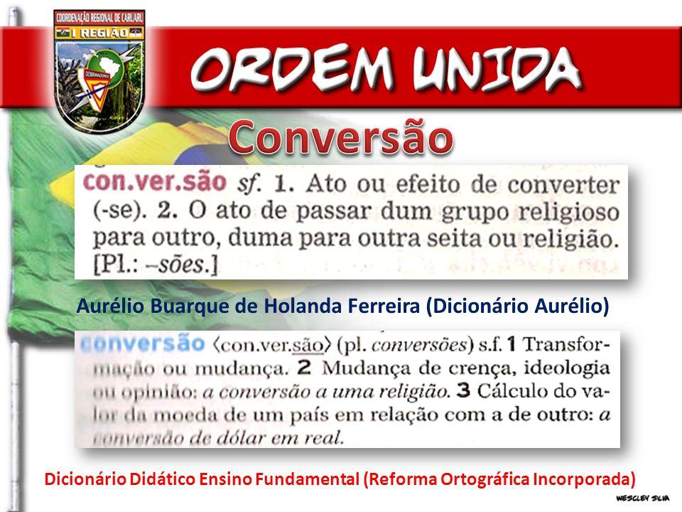 Conversão Aurélio Buarque de Holanda Ferreira (Dicionário Aurélio)