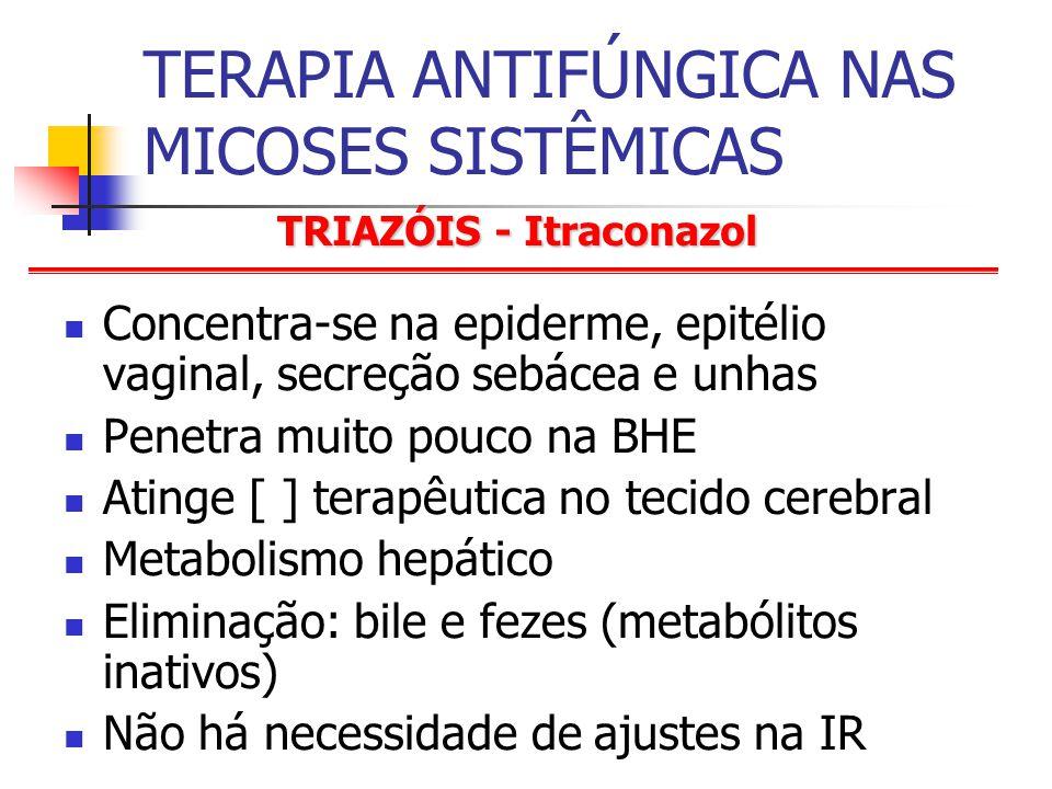 TERAPIA ANTIFÚNGICA NAS MICOSES SISTÊMICAS