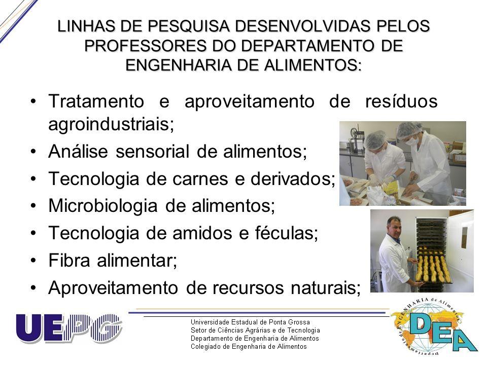 Tratamento e aproveitamento de resíduos agroindustriais;