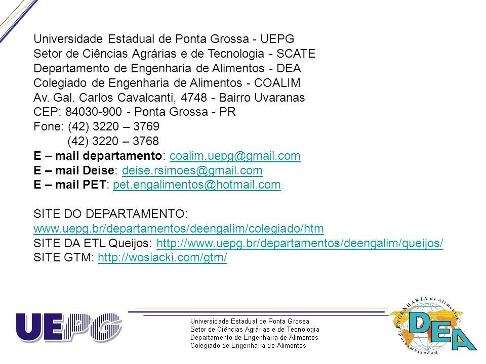 Universidade Estadual de Ponta Grossa - UEPG