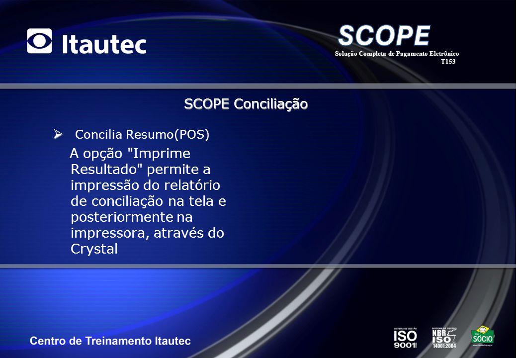 SCOPE Conciliação Concilia Resumo(POS)