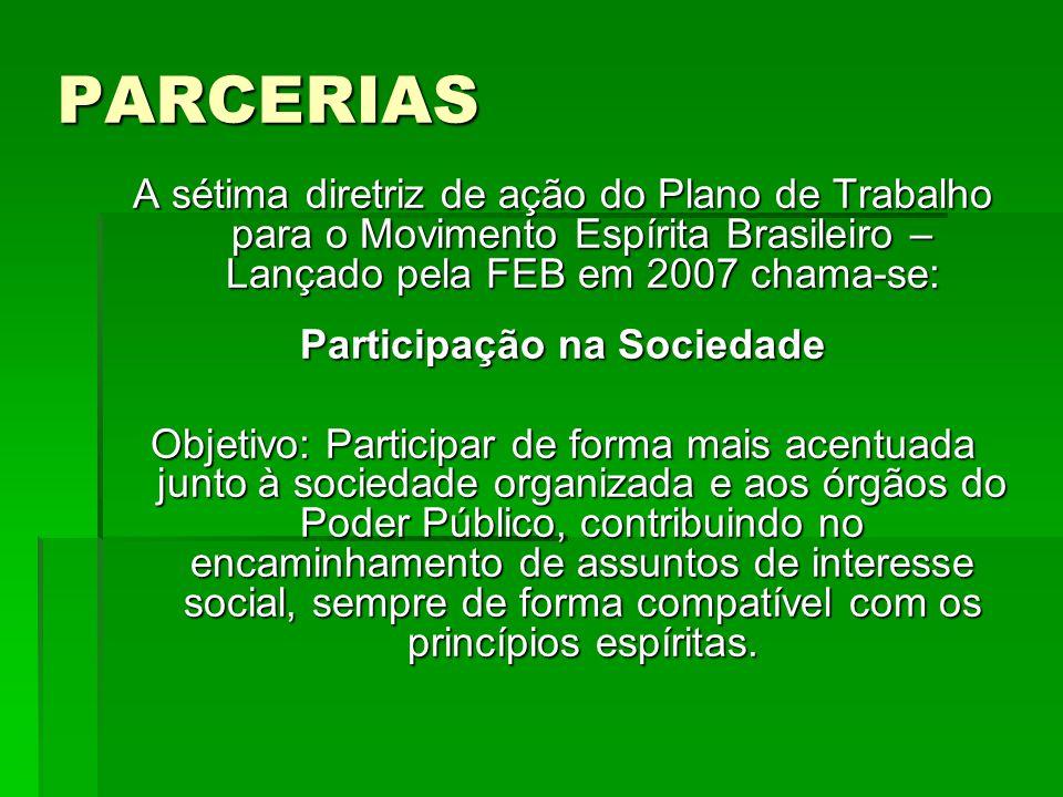 Participação na Sociedade