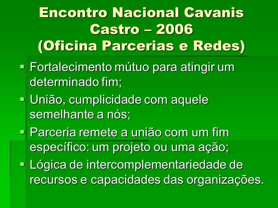 Encontro Nacional Cavanis Castro – 2006 (Oficina Parcerias e Redes)