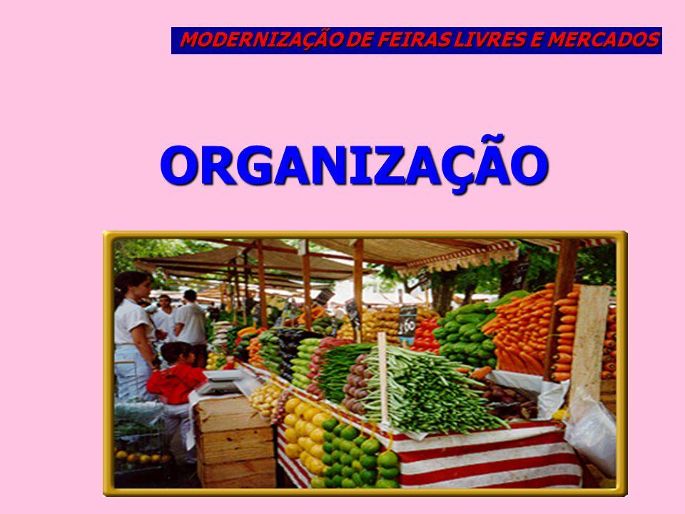 MODERNIZAÇÃO DE FEIRAS LIVRES E MERCADOS
