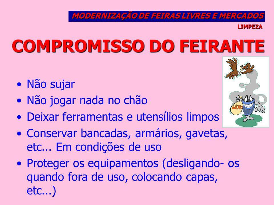 COMPROMISSO DO FEIRANTE