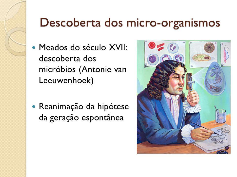 Descoberta dos micro-organismos