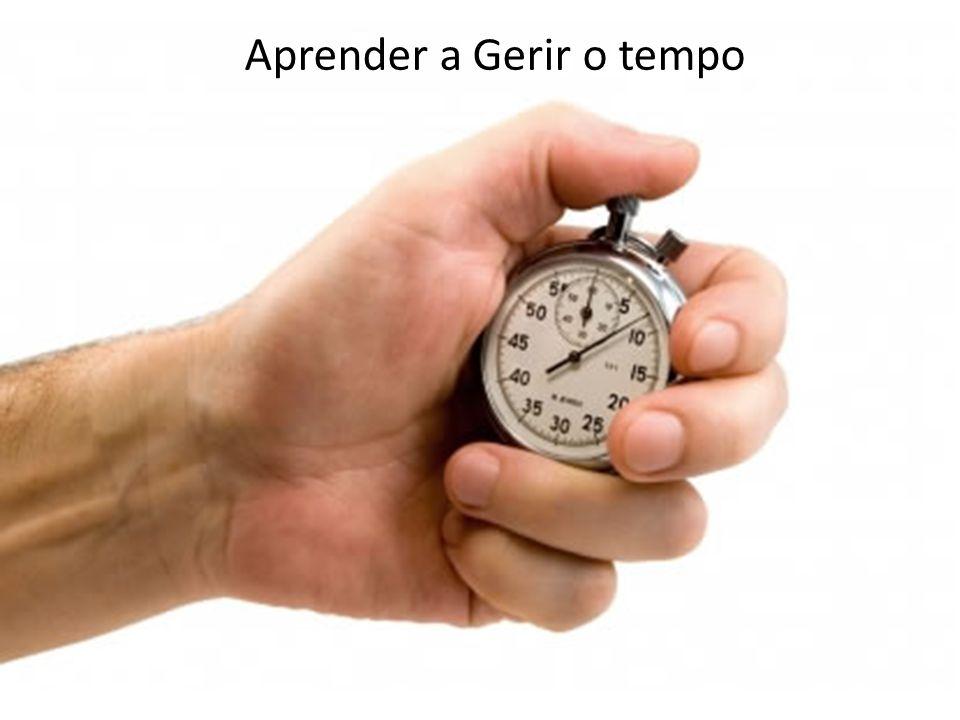 Aprender a Gerir o tempo