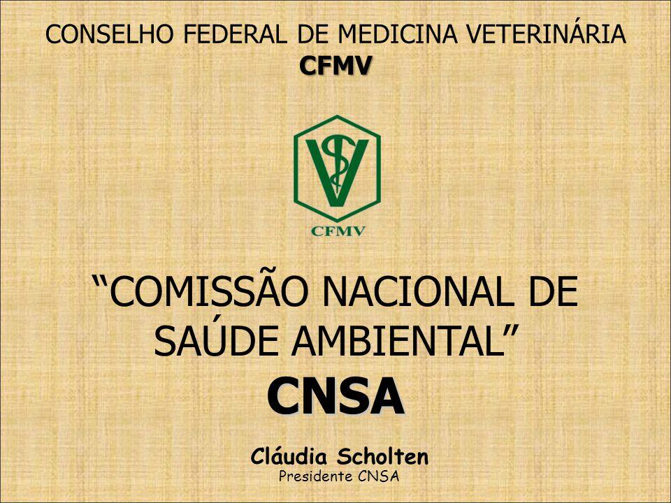 CONSELHO FEDERAL DE MEDICINA VETERINÁRIA
