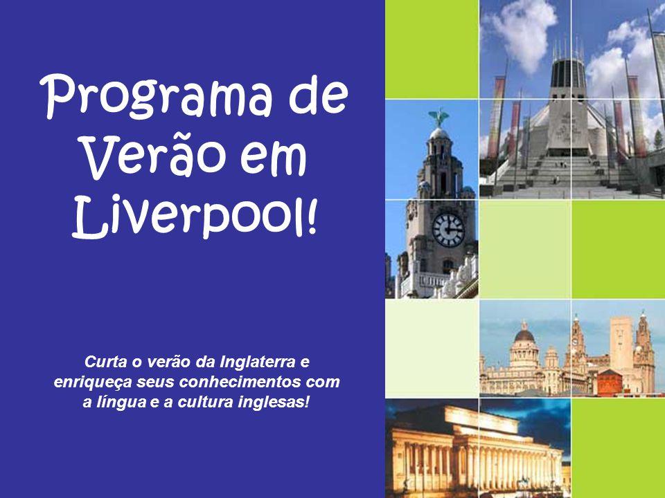 Programa de Verão em Liverpool!