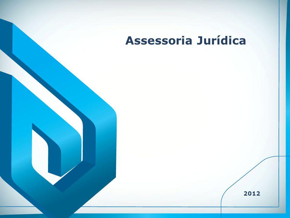 Assessoria Jurídica 2012