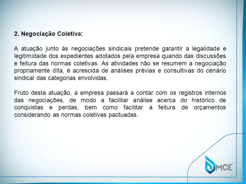 2. Negociação Coletiva: