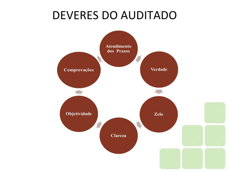 DEVERES DO AUDITADO