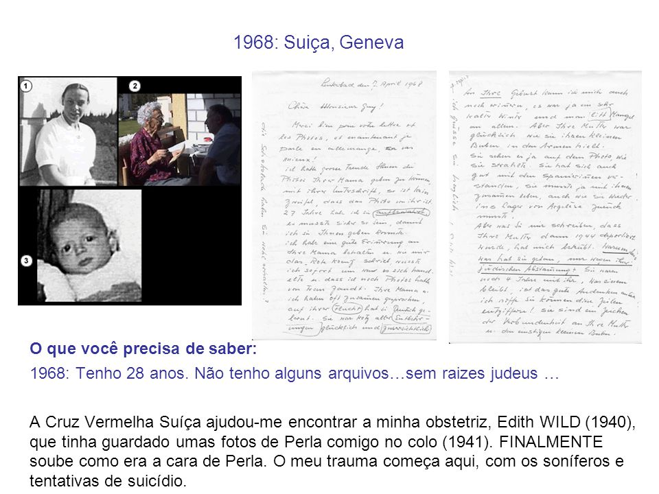 1968: Suiça, Geneva O que você precisa de saber: