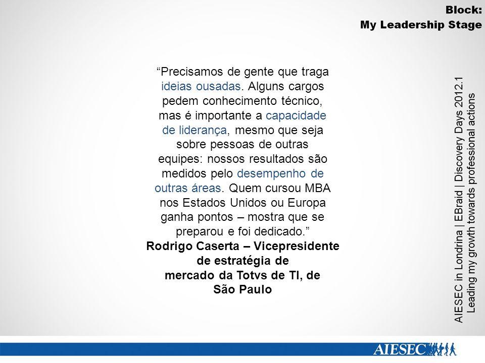 Rodrigo Caserta – Vicepresidente mercado da Totvs de TI, de