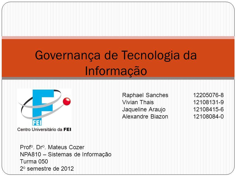 Governança de Tecnologia da Informação