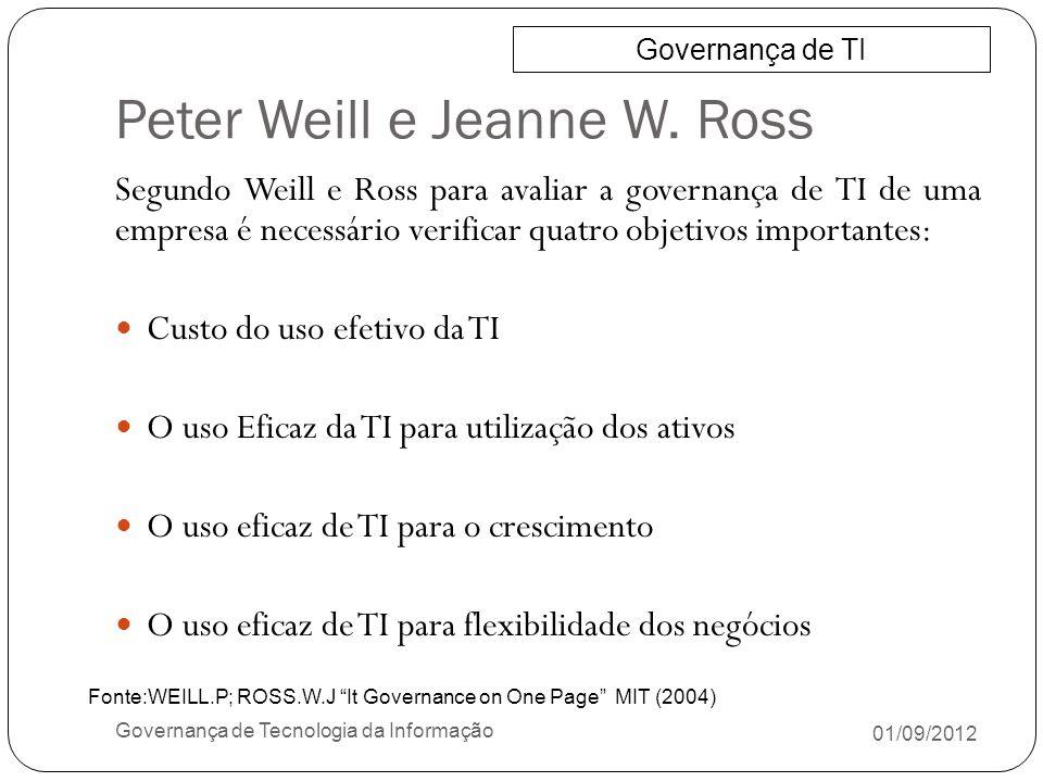 Peter Weill e Jeanne W. Ross