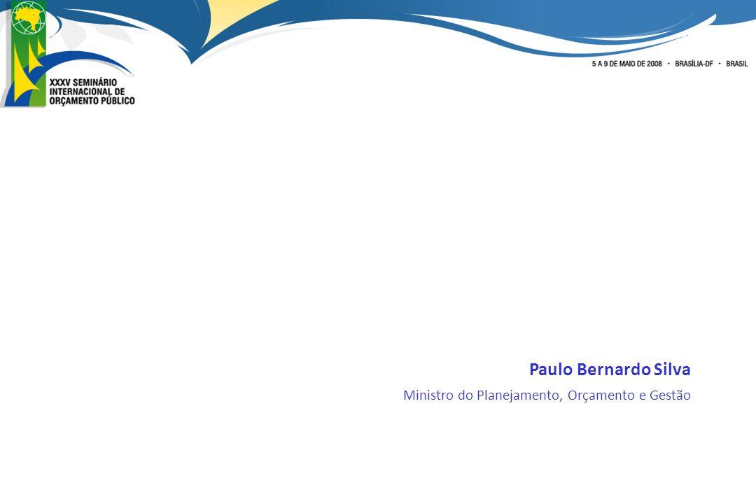 Paulo Bernardo Silva Ministro do Planejamento, Orçamento e Gestão