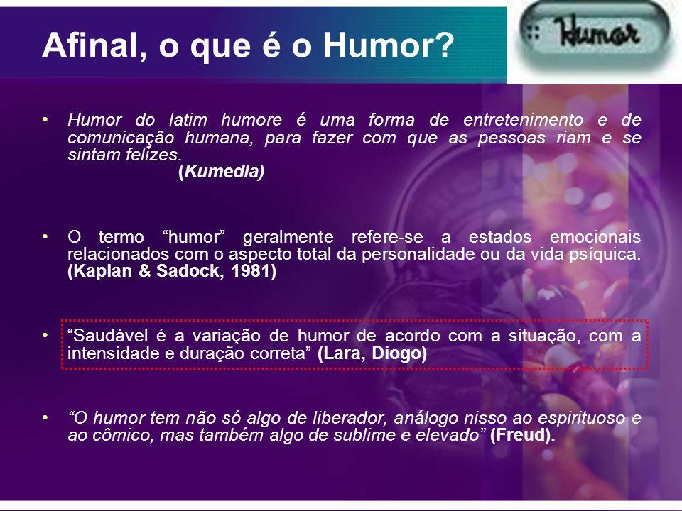 Afinal, o que é o Humor