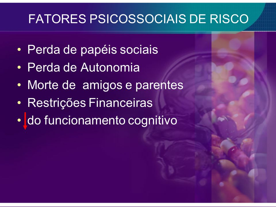 FATORES PSICOSSOCIAIS DE RISCO