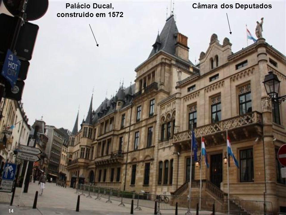 Palácio Ducal, construido em 1572