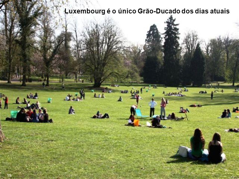 Luxembourg é o único Grão-Ducado dos dias atuais