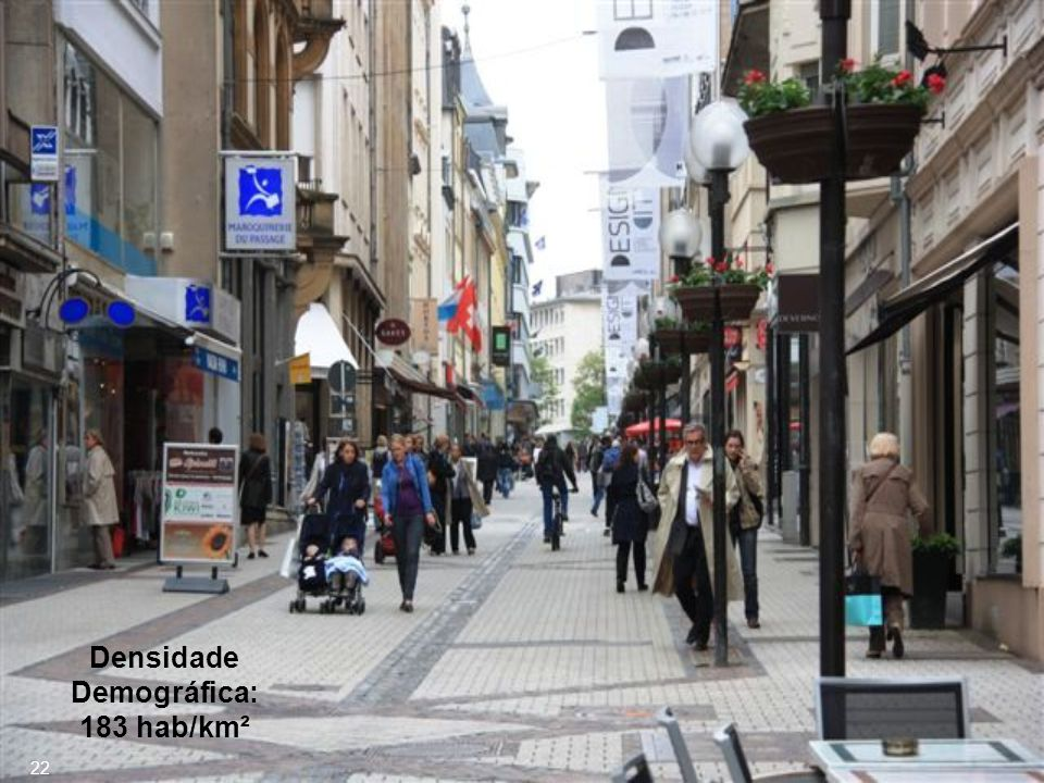 Densidade Demográfica: 183 hab/km²