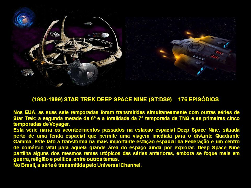 (1993-1999) STAR TREK DEEP SPACE NINE (ST:DS9) – 176 EPISÓDIOS