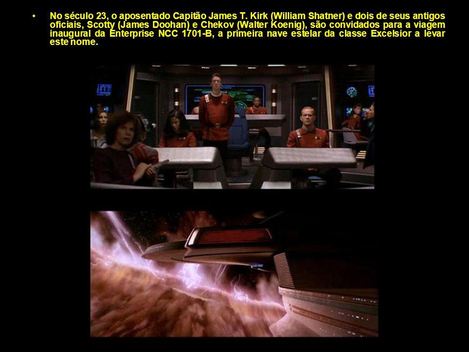 No século 23, o aposentado Capitão James T