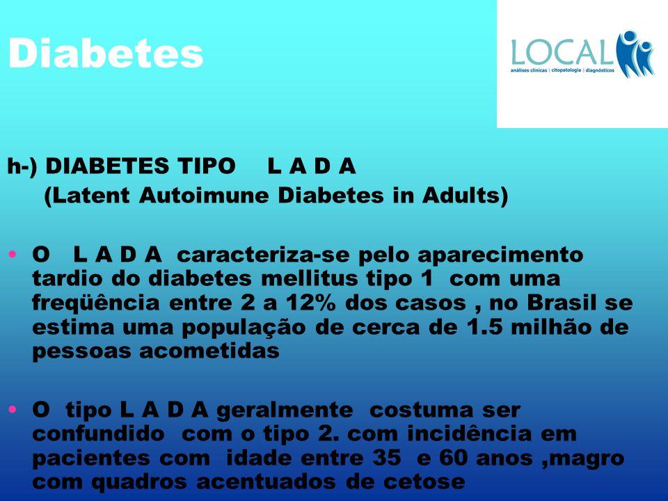 Diabetes h-) DIABETES TIPO L A D A