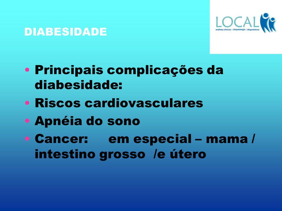 Principais complicações da diabesidade: Riscos cardiovasculares