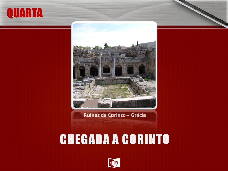 Ruínas de Corinto – Grécia