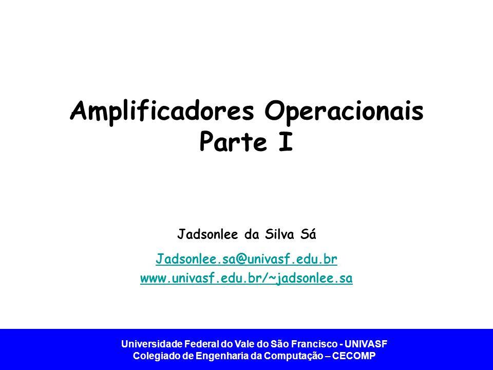 Amplificadores Operacionais Parte I