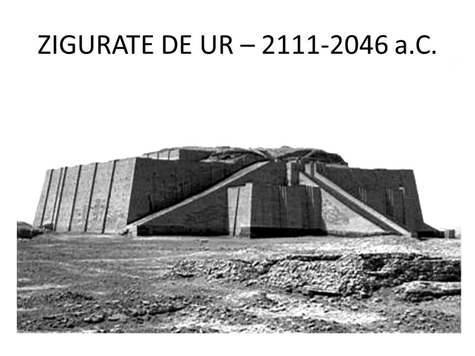 ZIGURATE DE UR – 2111-2046 a.C.