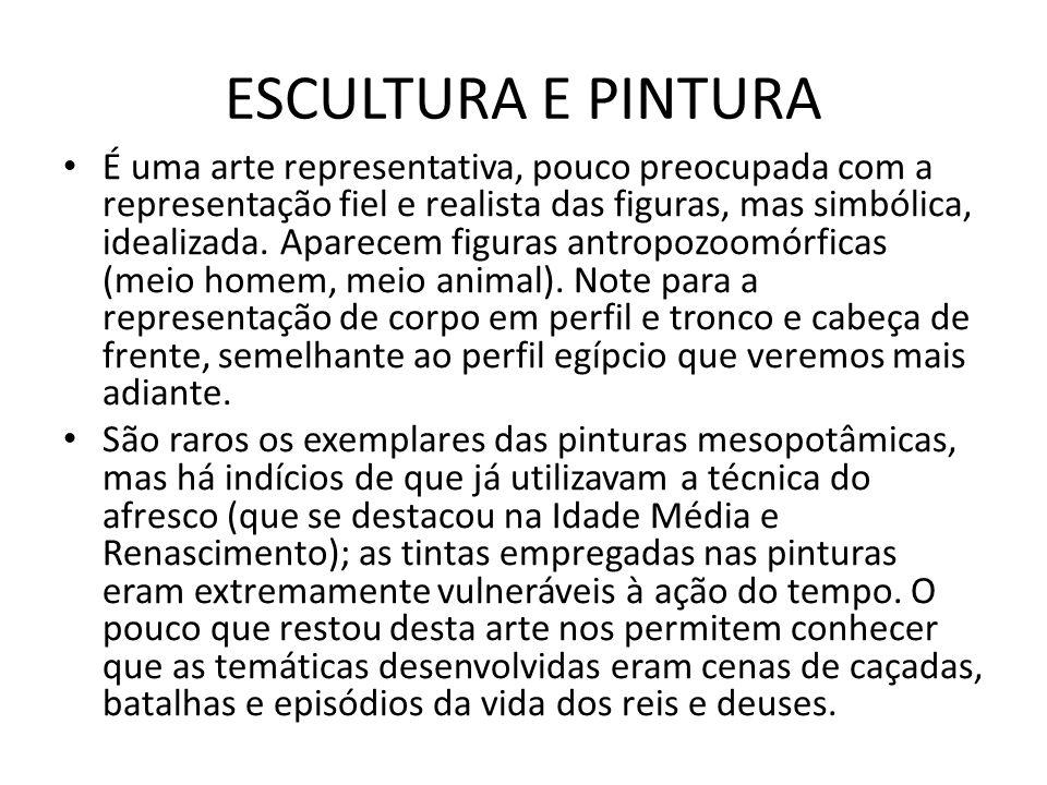 ESCULTURA E PINTURA