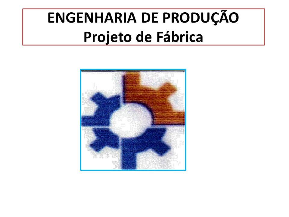 ENGENHARIA DE PRODUÇÃO Projeto de Fábrica